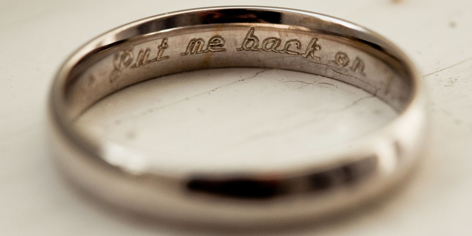 10 Cheeky Wedding Ring Engravings That Speak Volumes