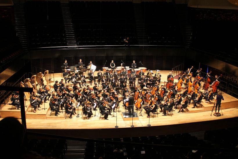 The Philharmonie de <em>Paris</em> is a cultural institution in <em>Paris</em>, France which combine spaces all dedicated to