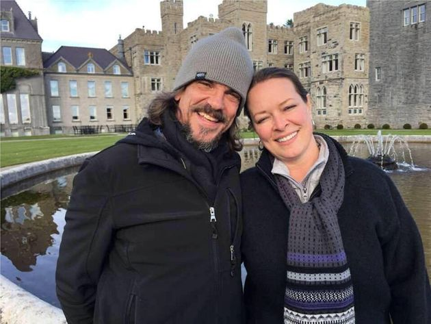 Kurt Cochran and his wife Melissa, who were in Europe to celebrate their 25th wedding