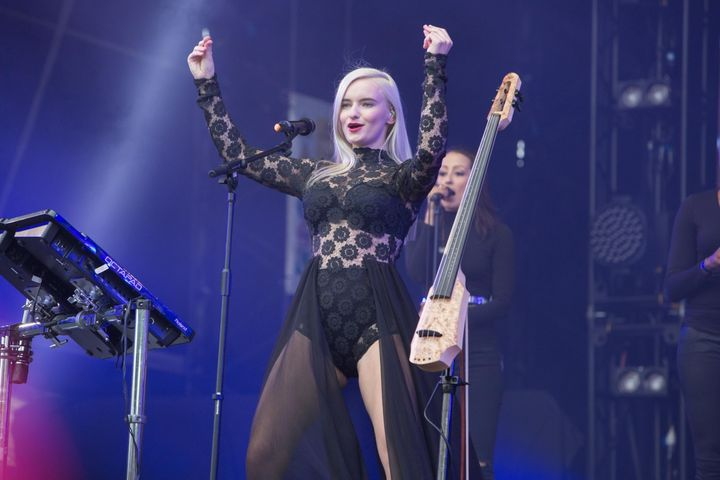 Grace Chatto says Clean Bandit wanted to spotlight love between gay men of color in the Grammy-winning band's new music video