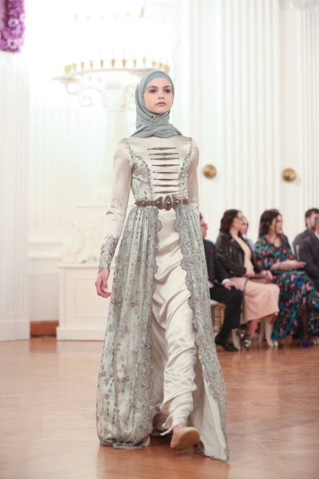 Traditional Circassian inspired dress