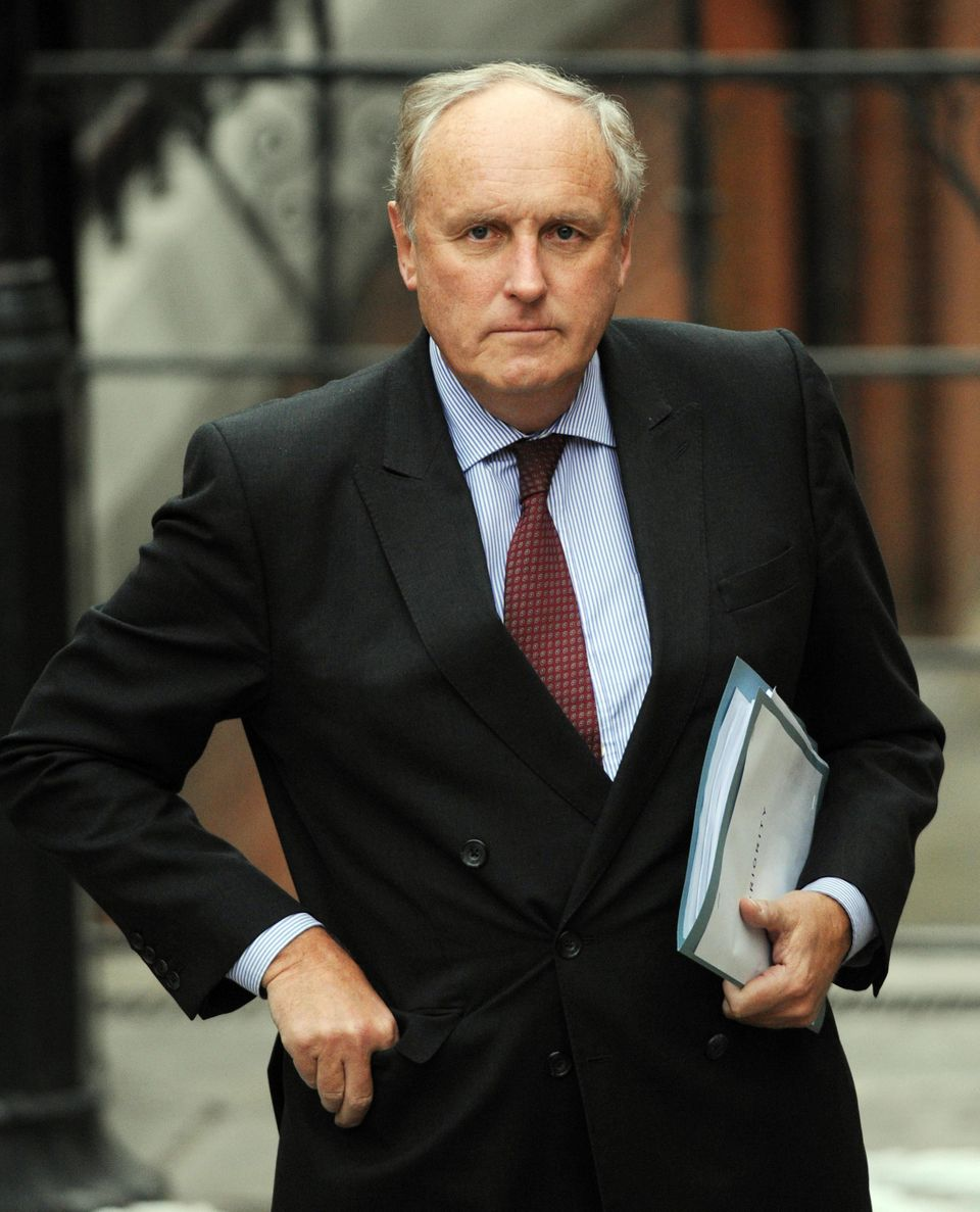 Daily Mail editor Paul Dacre arrives at the Leveson inquiry into press standards in