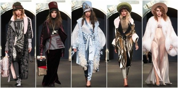 Looks from Igor Gulyaev's collection