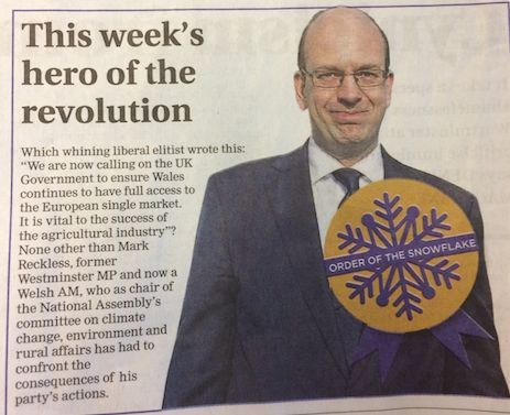 Mark Reckless as he appeared in The New