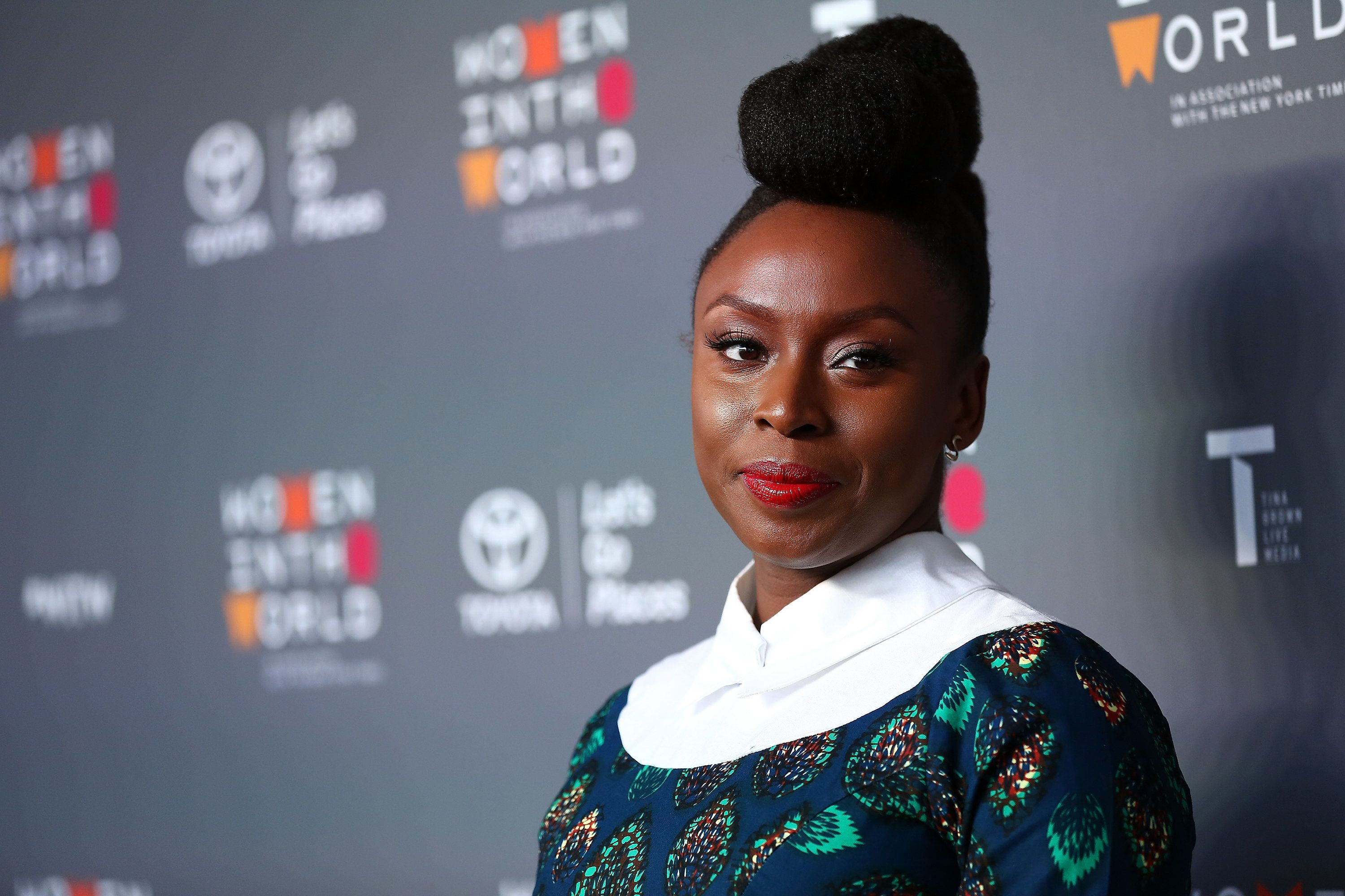 NEW YORK, NY - APRIL 05:  Author Chimamanda Ngozi Adichie attends the 8th Annual Women In The World Summit at Lincoln Center for the Performing Arts on April 5, 2017 in New York City.  (Photo by Monica Schipper/WireImage)