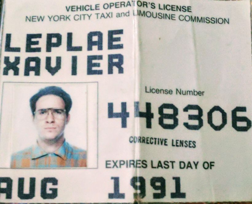 Xavier Leplae - NYC Taxi License