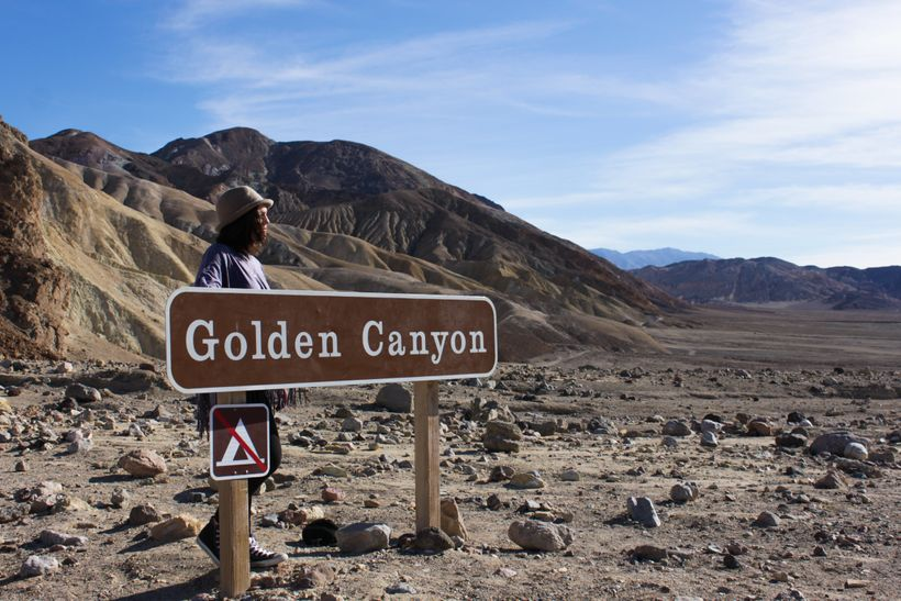 <em>Golden Canyon, Death Valley</em>