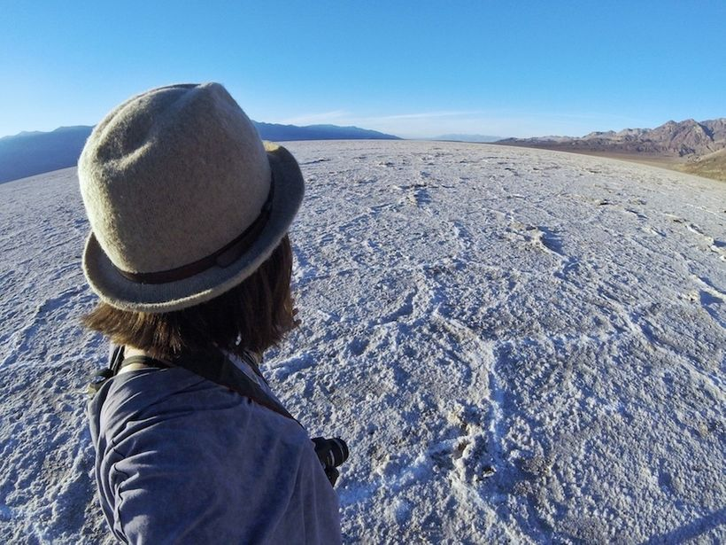 <em>Badwater Basin Salt Flats, Death Valley</em>