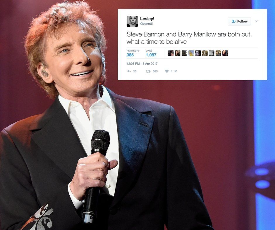 The Internet's Reaction To Barry Manilow Coming Out Was