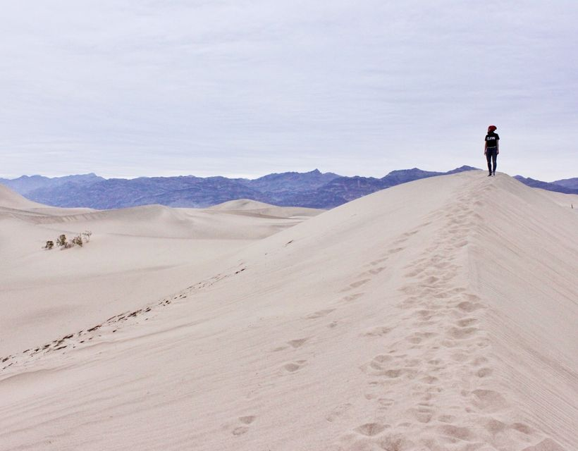 <em>Mesquite Sand Dunes, Death Valley</em>