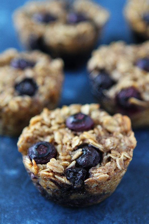 """<strong>Get the <a href=""""http://www.twopeasandtheirpod.com/banana-blueberry-baked-oatmeal-cups/"""" target=""""_blank"""">Banana, Blue"""