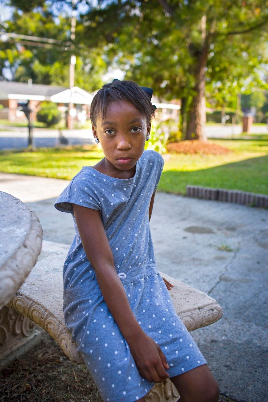 """Eight-year-old <strong>Taniya </strong>was shot by another third-grader in their classroom. The boy had found the gun in his"