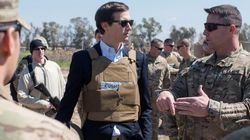 Jared Kushner Went To Iraq And Couldn't Have Looked More Out Of