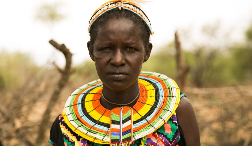 Cheposait Adomo was bitten repeatedly by a black mamba in Kenya's West Pokot. She survived after being taken to a nearby&nbsp