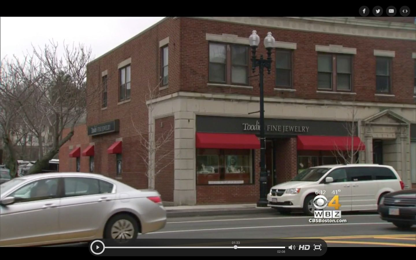 An employee at Toodies Fine Jewelry in Quincy Massachusetts has been ordered to pay more than 34500 after writing a fake review of a competing business