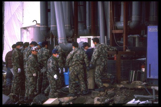 Police investigatingAum Shinrikyo