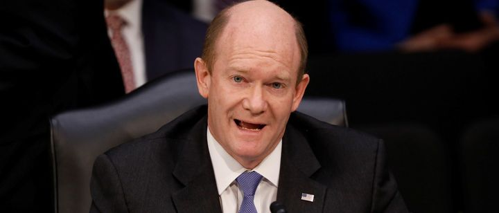 Sen. Chris Coons tried to broker a deal to avert the nuclear option.