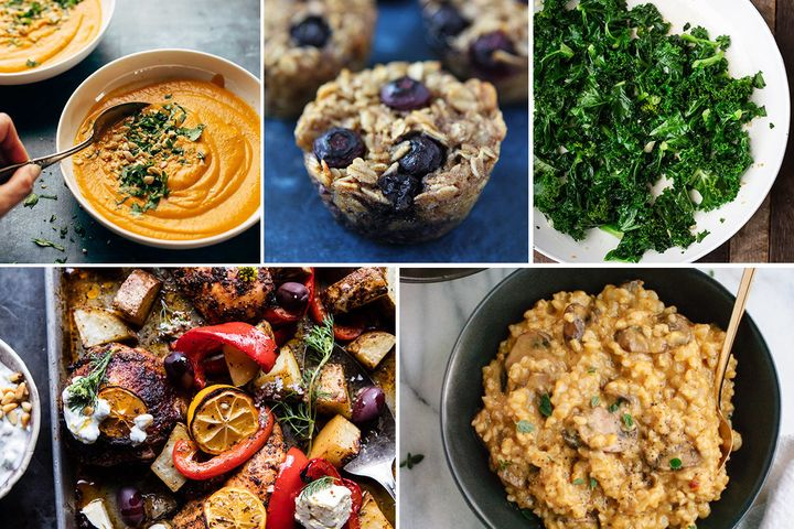Five healthy recipes you should make Sunday to ensure you eat healthy all week long.