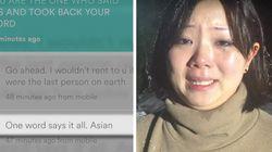 Si rifiuta di ospitarla soltanto perché è asiatica, la studentessa 25enne discriminata su