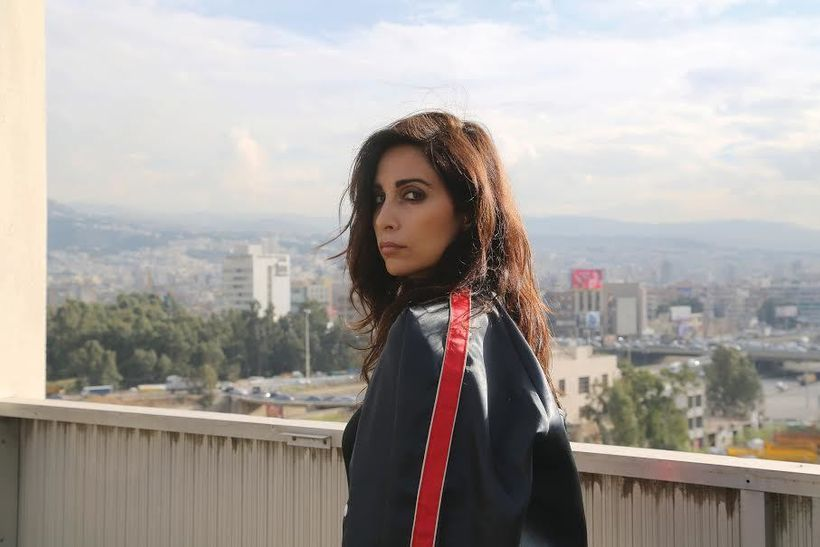 Yasmine Hamdan in her home city of Beirut