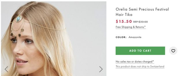 Fashion Store Calls This A 'Chandelier Head Clip,' And Twitter Isn't