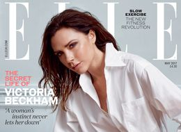Victoria Beckham Reinvents The Humble White Shirt For Elle UK's  May Cover