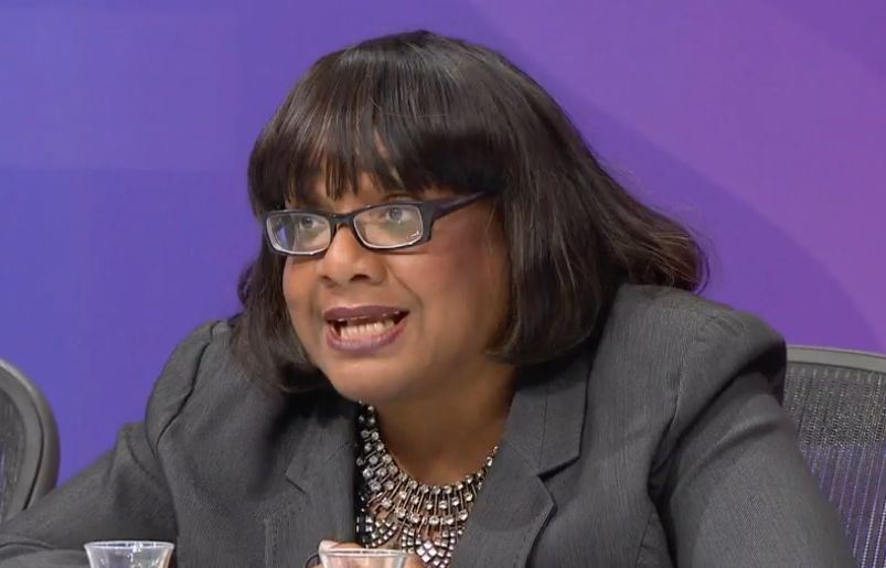 The shadow home secretary's comments sparked uproar last