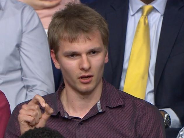 A disgruntled Question Time audience member challenged Diane Abbott about links she made between Brexit...