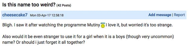 Mum-To-Be Appeals For Advice On Mumsnet As She Worries Her Baby Name Choice Is 'Too