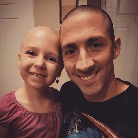 Bald is handsome; young girl's inspiring photos go viral