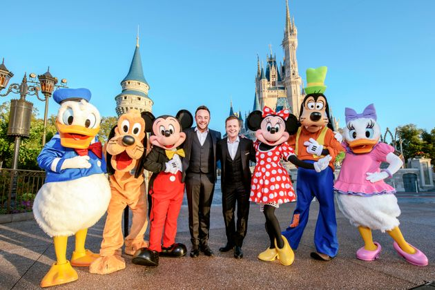 Ant and Dec are heading to Disney for the 'Saturday Night Takeaway'