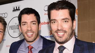TORONTO, ON - SEPTEMBER 11:  Actor JD Scott, actor Drew Scott, and Actor Jonathan Scott attend the 5th Annual Producers Ball presented by Scotiabank in support of The 2015 Toronto International Film Festival at Royal Ontario Museum on September 11, 2015 in Toronto, Canada.  (Photo by Mike Windle/Getty Images)