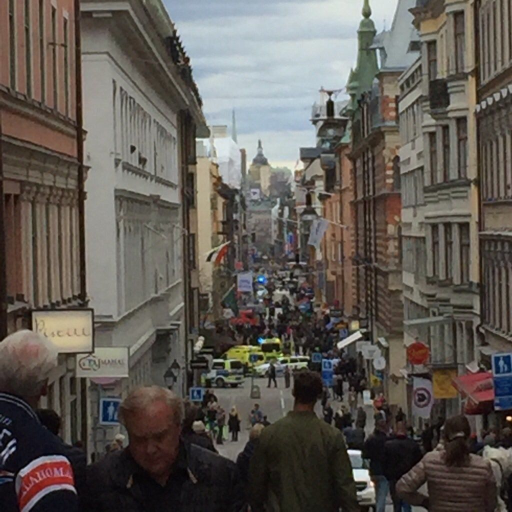 Stockholm 'Terror Attack': Truck Driven Into Crowd Of People In Swedish