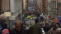 Truck Driven Into Crowd Of People In Stockholm,