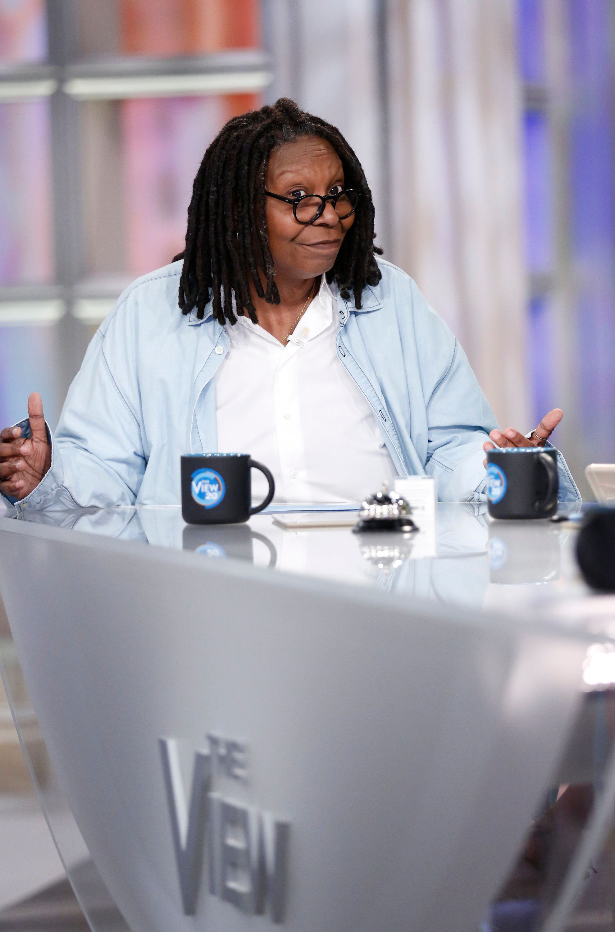 THE VIEW - Rachel Maddow is the guest today, Wednesday, March 22, 2017 on ABC's 'The View.'   'The View' airs Monday-Friday (11:00 am-12:00 pm, ET) on the ABC Television Network.     (Photo by Heidi Gutman/ABC via Getty Images)  WHOOPI GOLDBERG