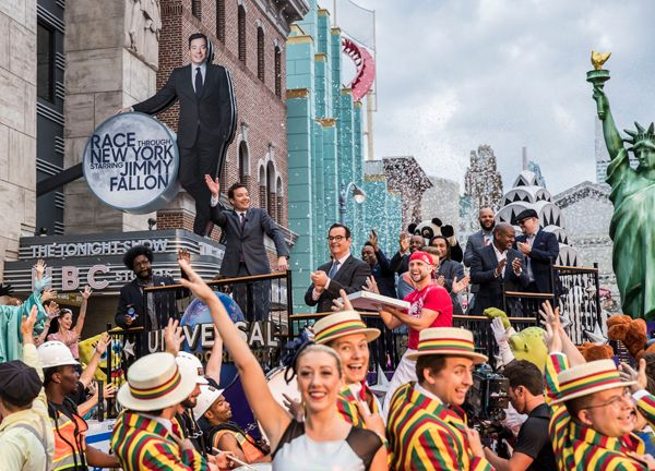 On April 6, 2017, Race Through New York Starring Jimmy Fallon officially opened at Universal Orlando Resort. Hundreds of fans