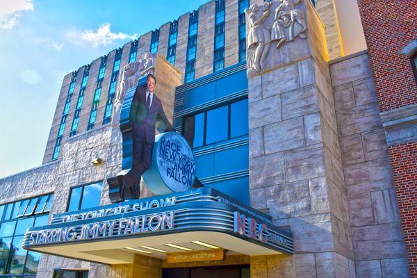 Exterior of Race Through New York Starring Jimmy Fallon at Universal Studios Florida