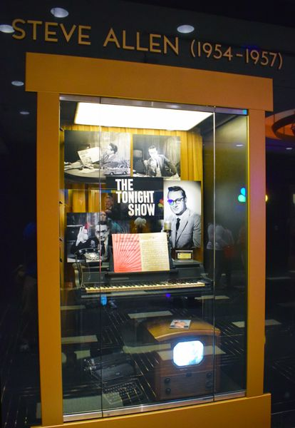 """Memorabilia from the original """"Tonight Show"""" with Steve Allen that debuted in 1954"""