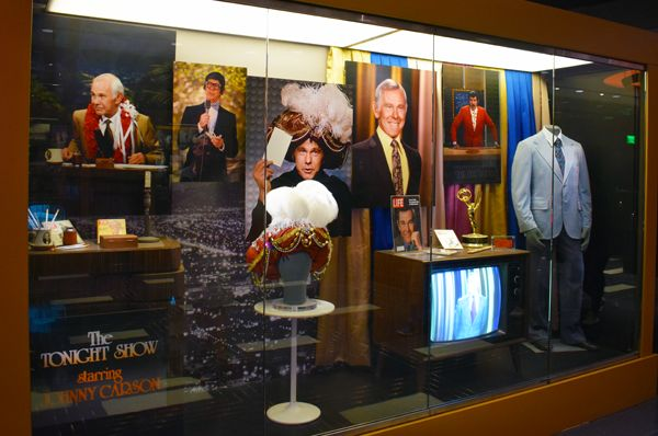 """Memorabilia from the Johnny Carson era of the """"Tonight Show"""" that he hosted for 30 years (1962 - 1992)"""