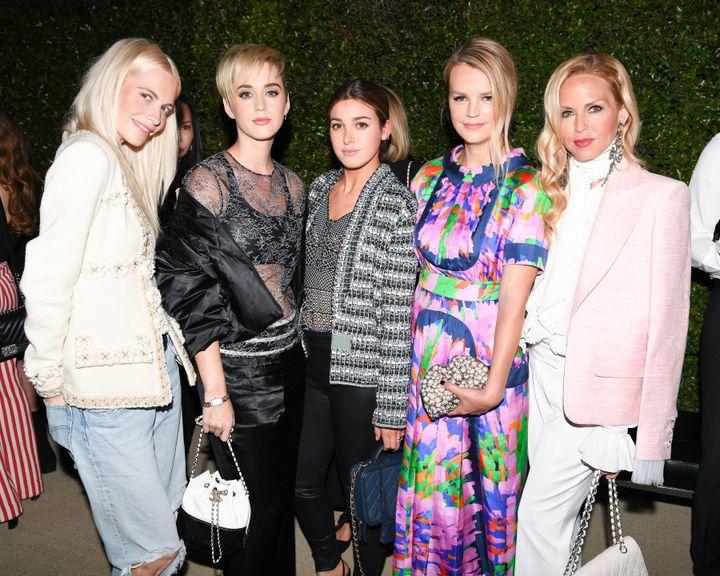 Poppy Delevingne, Katy Perry, Jamie Mizrahi, Kelly Sawyer and Rachel Zoe.