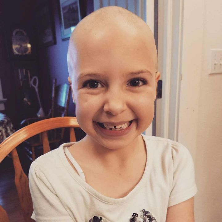 On January 1, Daniella Wride noticed her daughter, Gianessa, was losing her hair. Doctors confirmed the 7-year-old had alopecia.