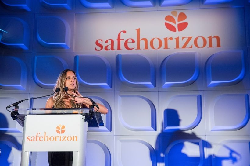 Actress and country music star <strong>Jana Kramer </strong>recounts her experience with domestic violence at Safe Horizon's