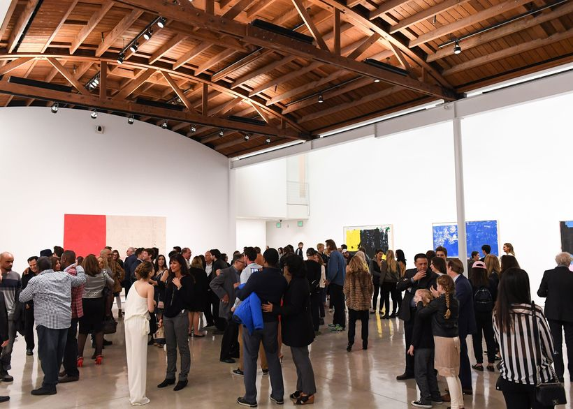 Gagosian was the place to be during Oscars weekend.