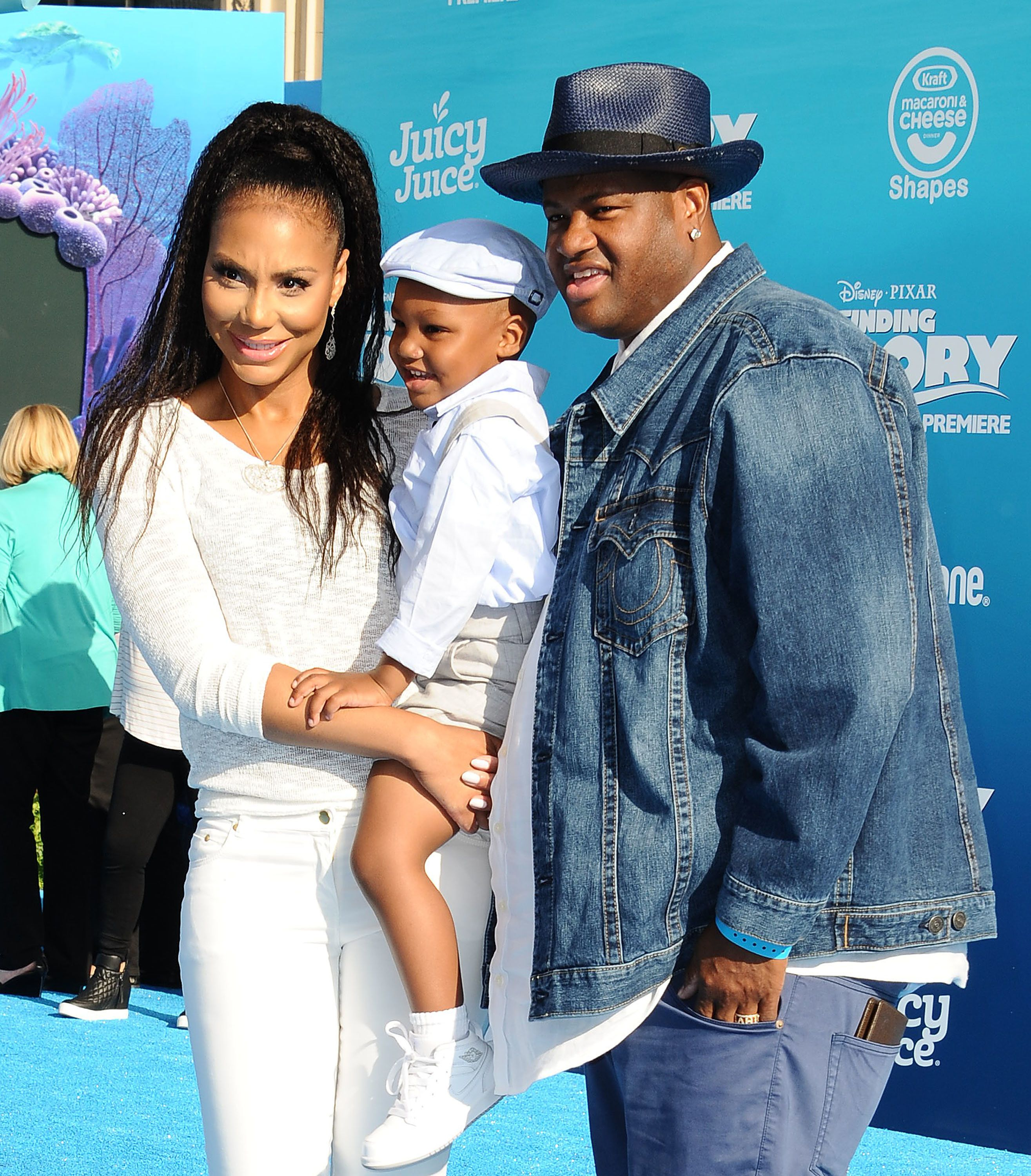 The singer and her husband have a 3-year-old son named Logan.
