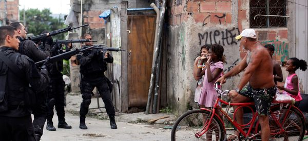With Tanks, Grenades And Guns, Police Wage War On Rio de Janeiro's Poorest