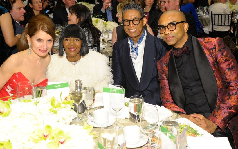 Jean Shafiroff, Cicely Tyson, b Michael and Marc Edwards