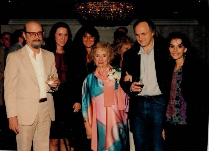 Ruth Gruber's book party.