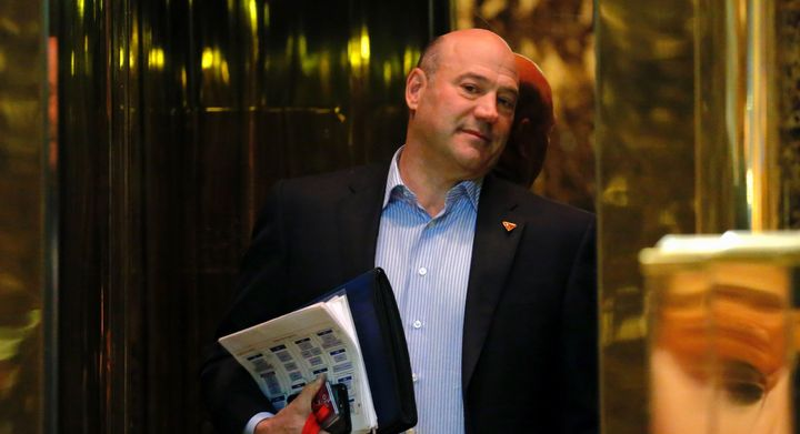 Gary Cohn arrives at Trump Tower for meetings with Donald Trump on Jan. 2, 2017 in New York City.