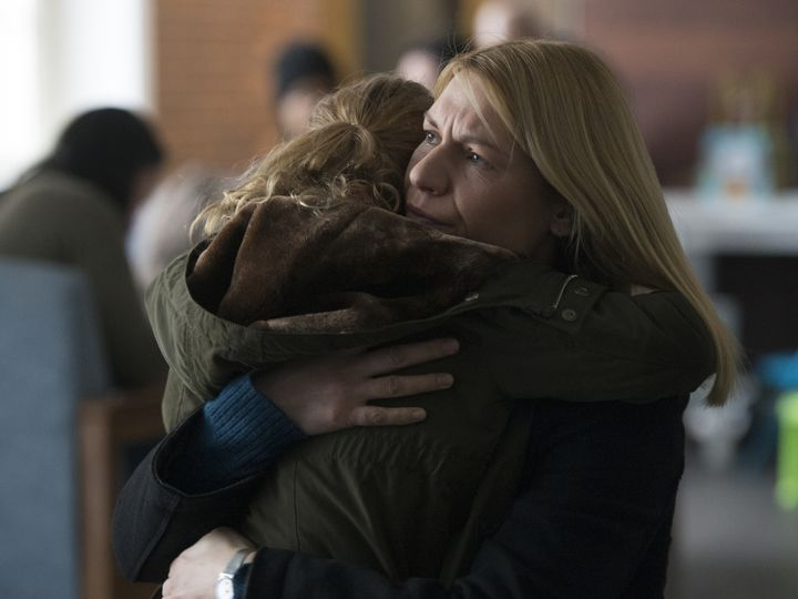 Carrie with her daughter, which she might say is her preferred endgame.