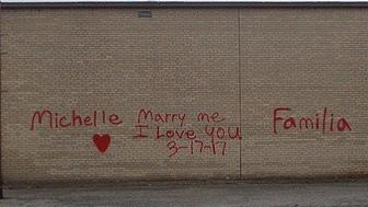 One mans marriage proposal